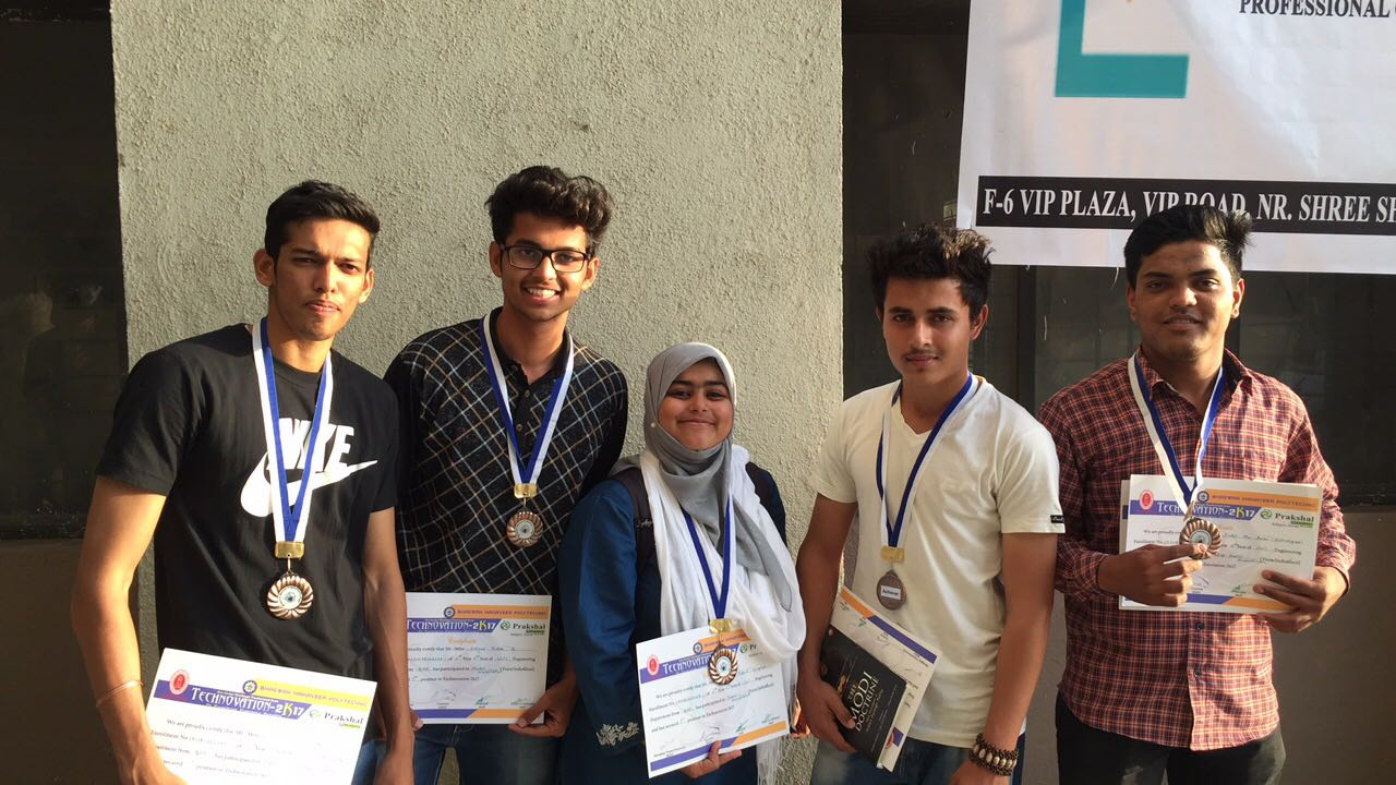 WINNER IN TECHNOVATION 2K17 WITH 1ST RANK
