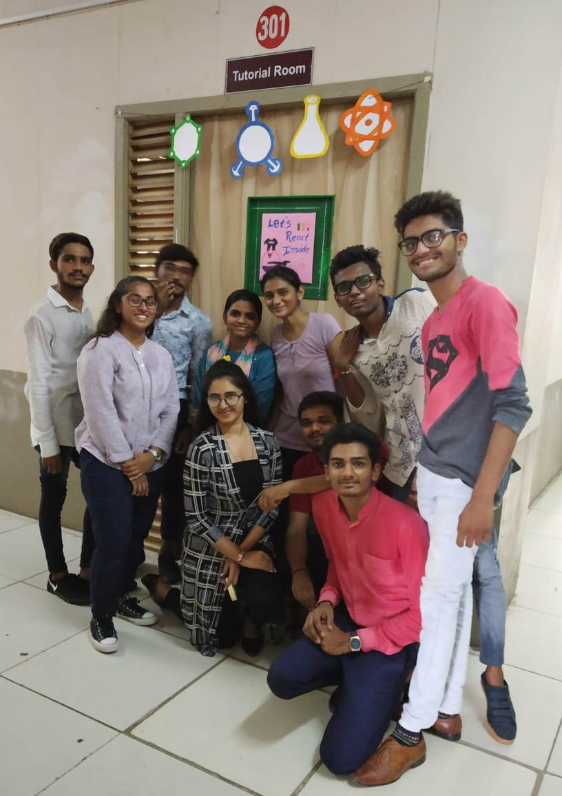 Chemical Engineering Department won 1st prize in Class decoration